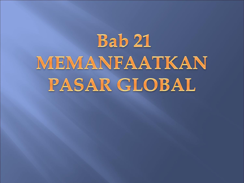 Kantor Pusat Pemasaran Internasional Penjual