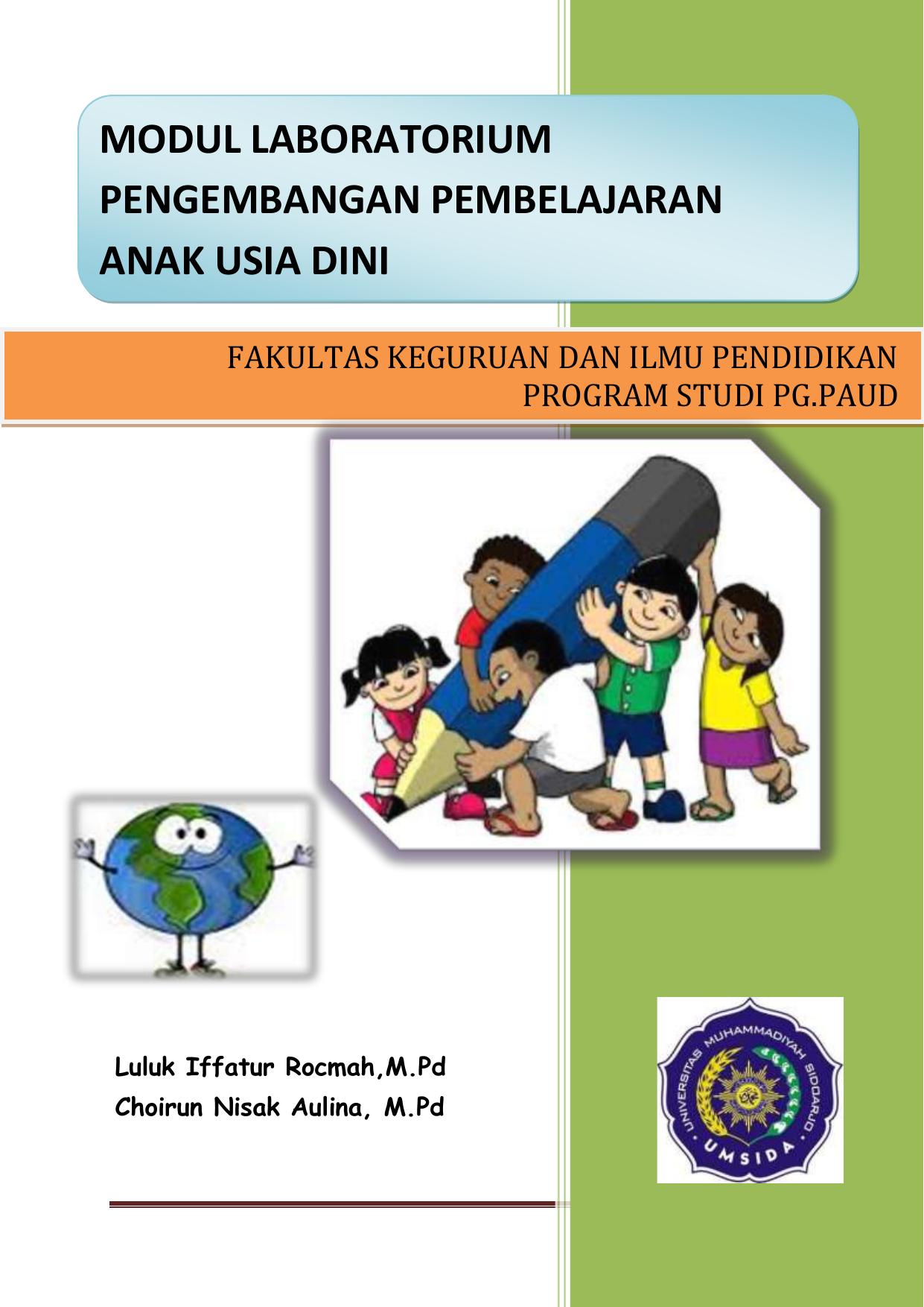 Fakultas Keguruan Dan Ilmu Pendidikan Program Studi Pg Paud