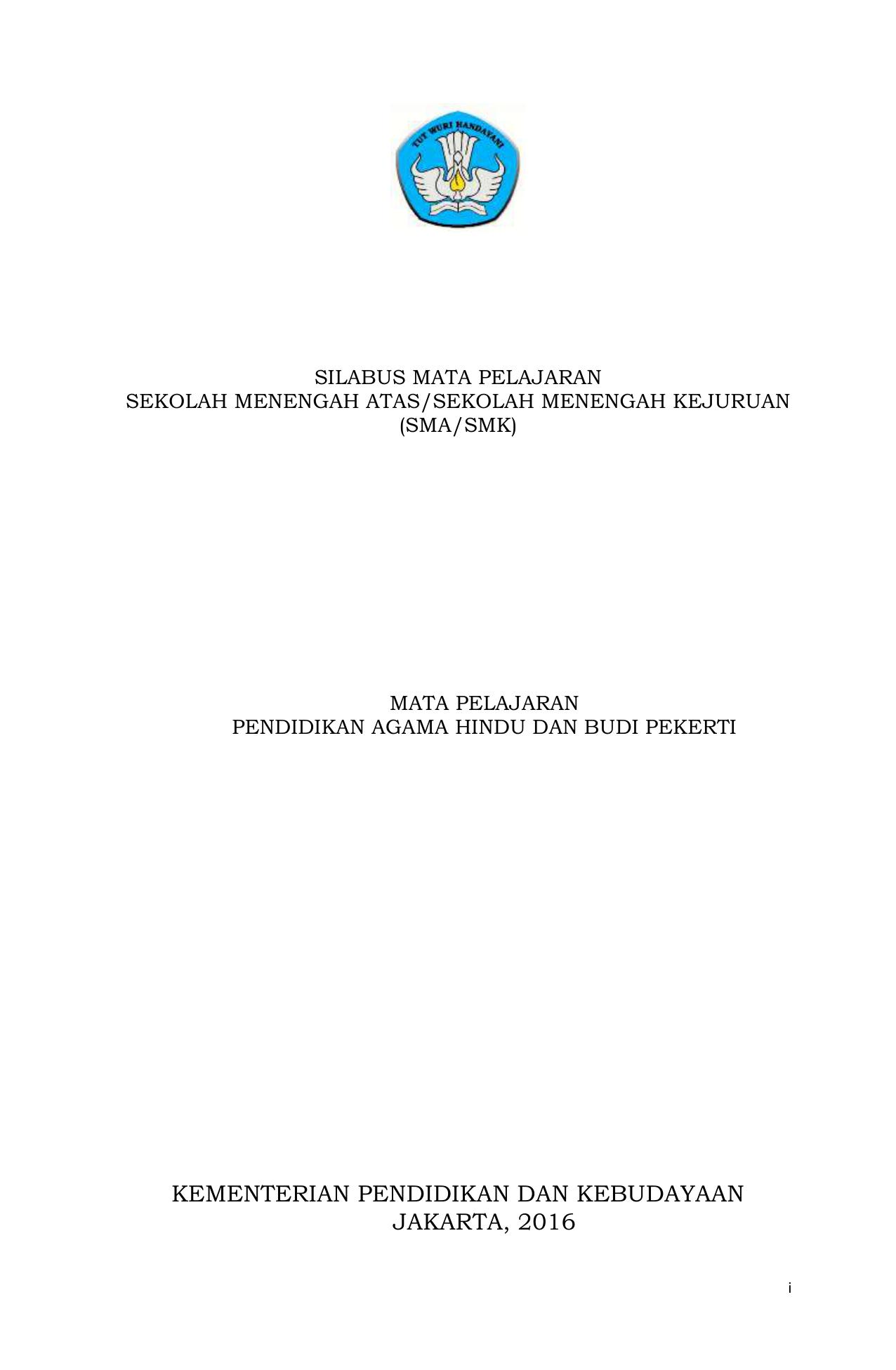 Agama Hindu Kelas X Mipa 2 File E