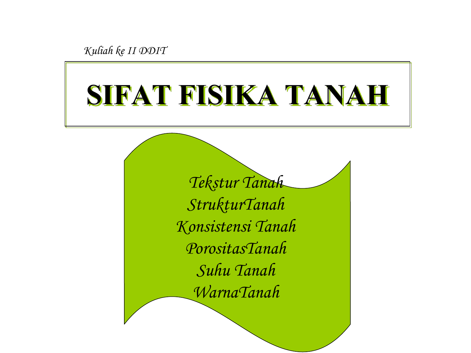 Sifat fisika tanah ccuart Gallery