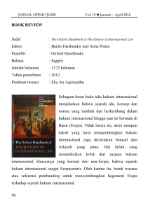 96 BOOK REVIEW Judul Editor : Bardo Fassbender and Anne