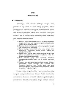 Hukum Acara Pidana Dan Peradilan Ham