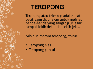 PPT Teropong - WordPress.com