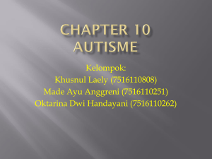 Chapter 10 autis