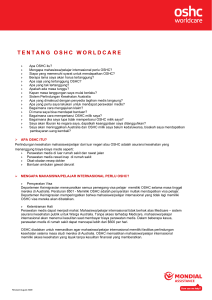 tentang oshc worldcare - Allianz Global Assistance