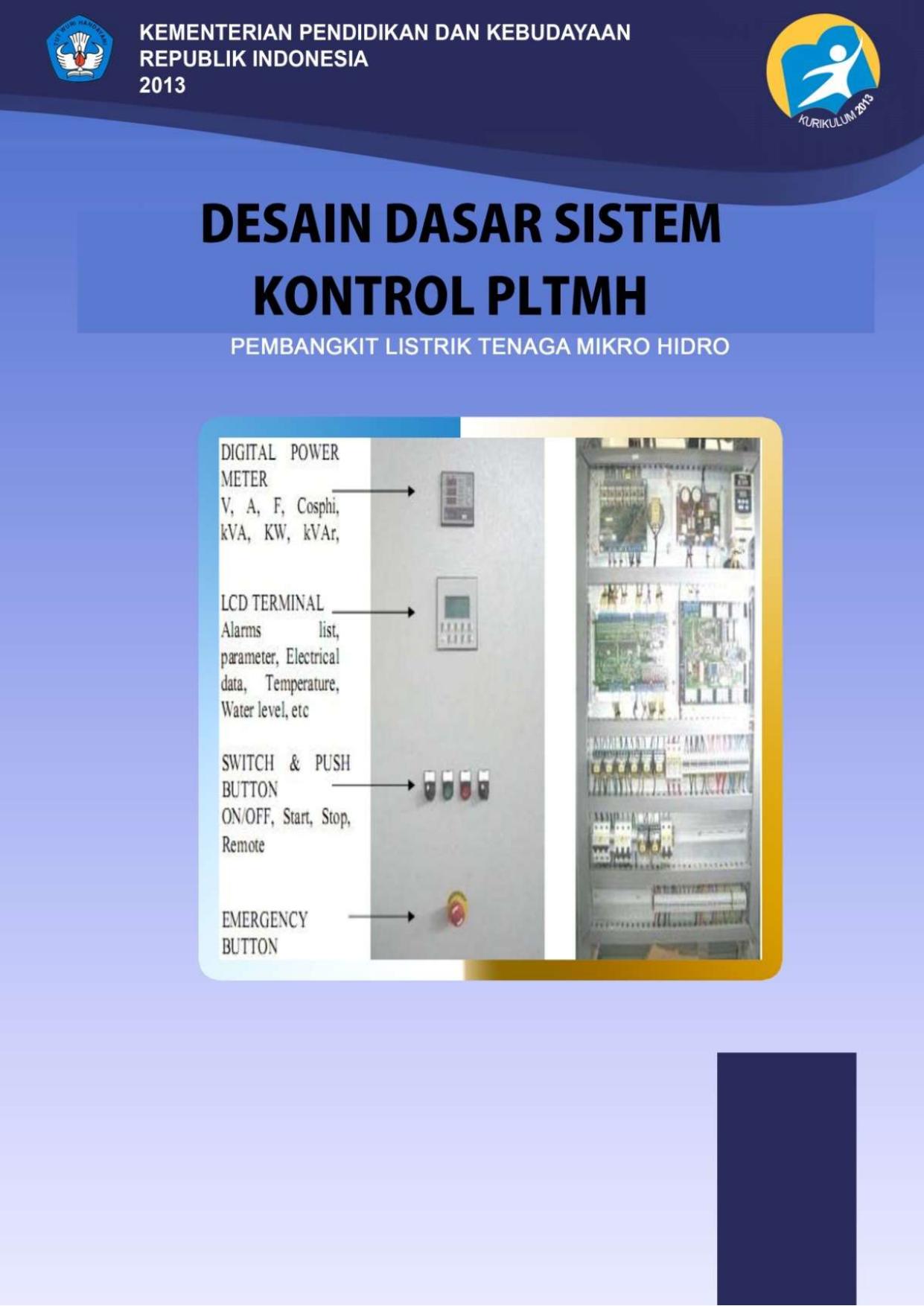 Desain Dasar Sistem Kontrol Pembangkit Listrik