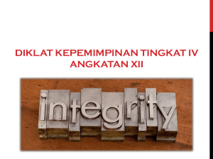 Integrity without knowledge is weak and useless, and knowledge
