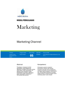 Modul Marketing [TM5]