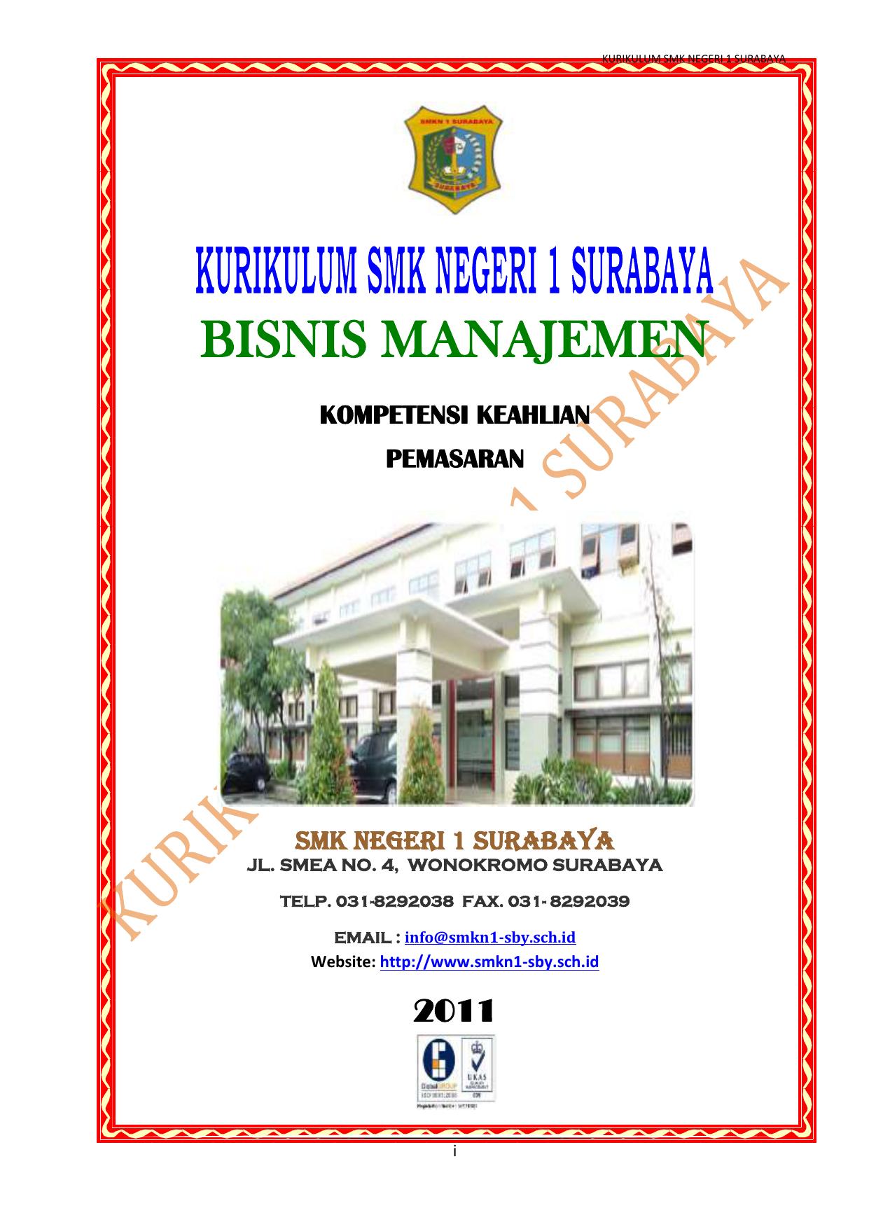 Bisnis Manajemen Kompetensi Keahlian Pemasaran Smk Negeri 1