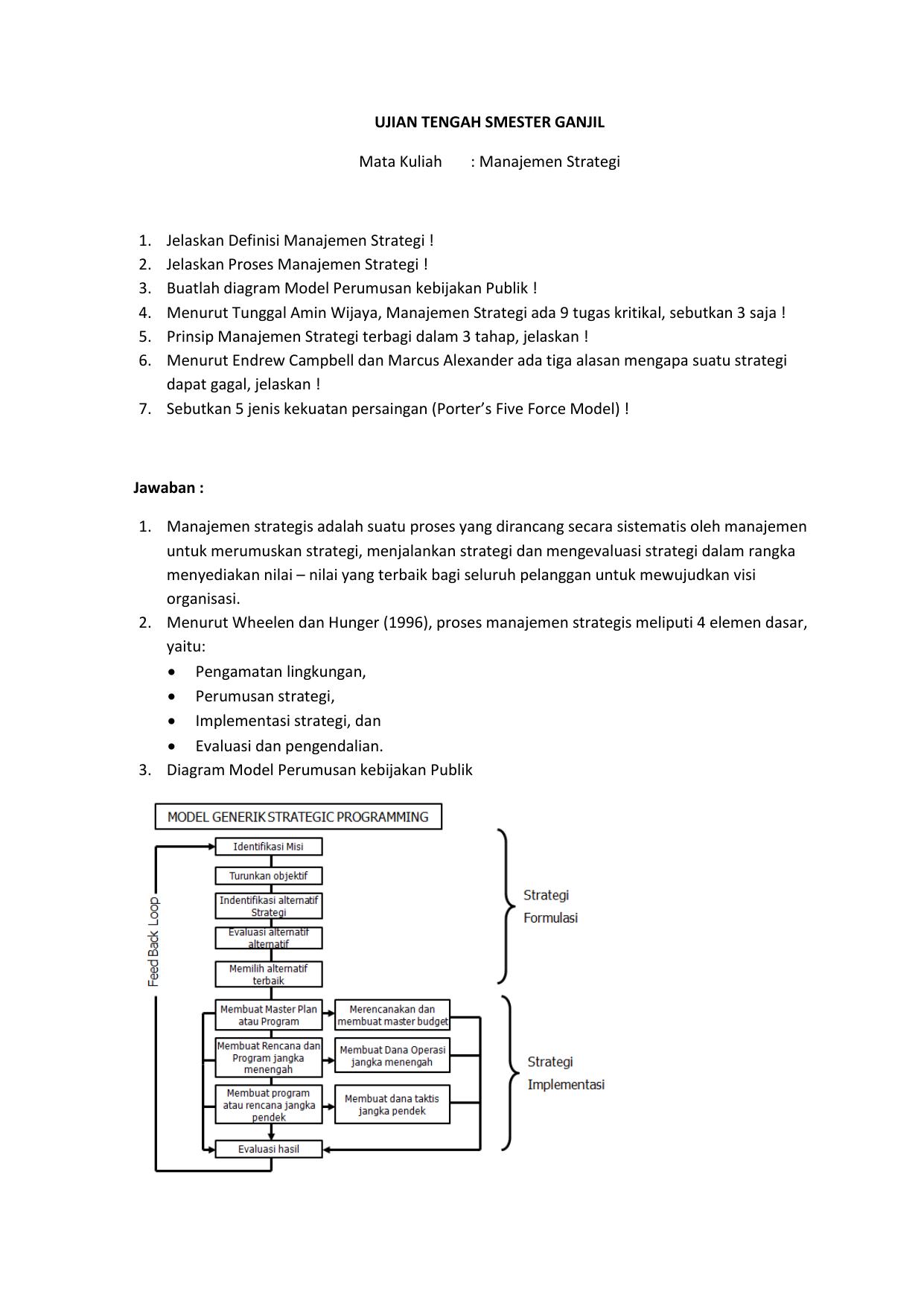 Analisis SWOT, Pengertian, Manfaat dan Contohnya