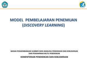 Discovery Learning - Sch