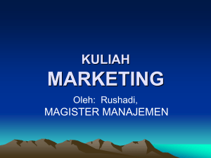 materi kuliah 123 marketing