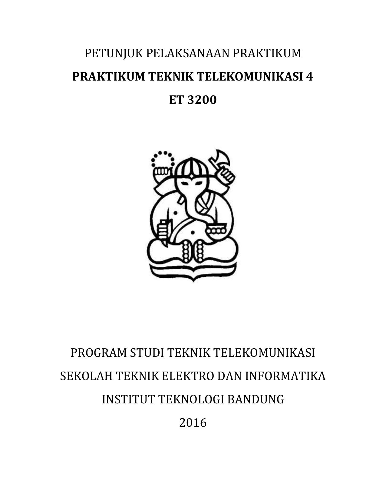 Tugas Pendahuluan Dan Laporan Praktikum Ltrgm Itb