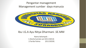 management sdm new