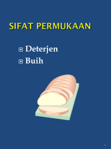 SIFAT PERMUKAAN