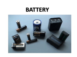 battery - slametumy