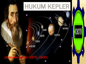 hukum Kepler - WordPress.com