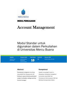 Modul Account Management [TM11]