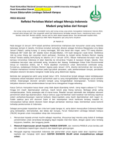 Forum Silaturrahim Lembaga Dakwah Kampus PRESS RELEASE
