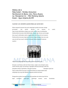 6 Modul_ke - Universitas Mercu Buana