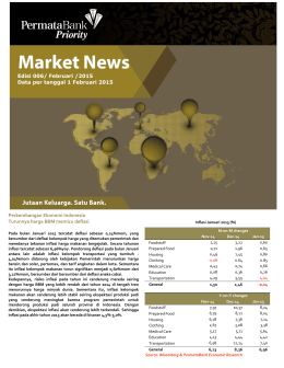Baca Markets Update Priority Februari 2015