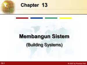 Overview of Systems Development Management Information