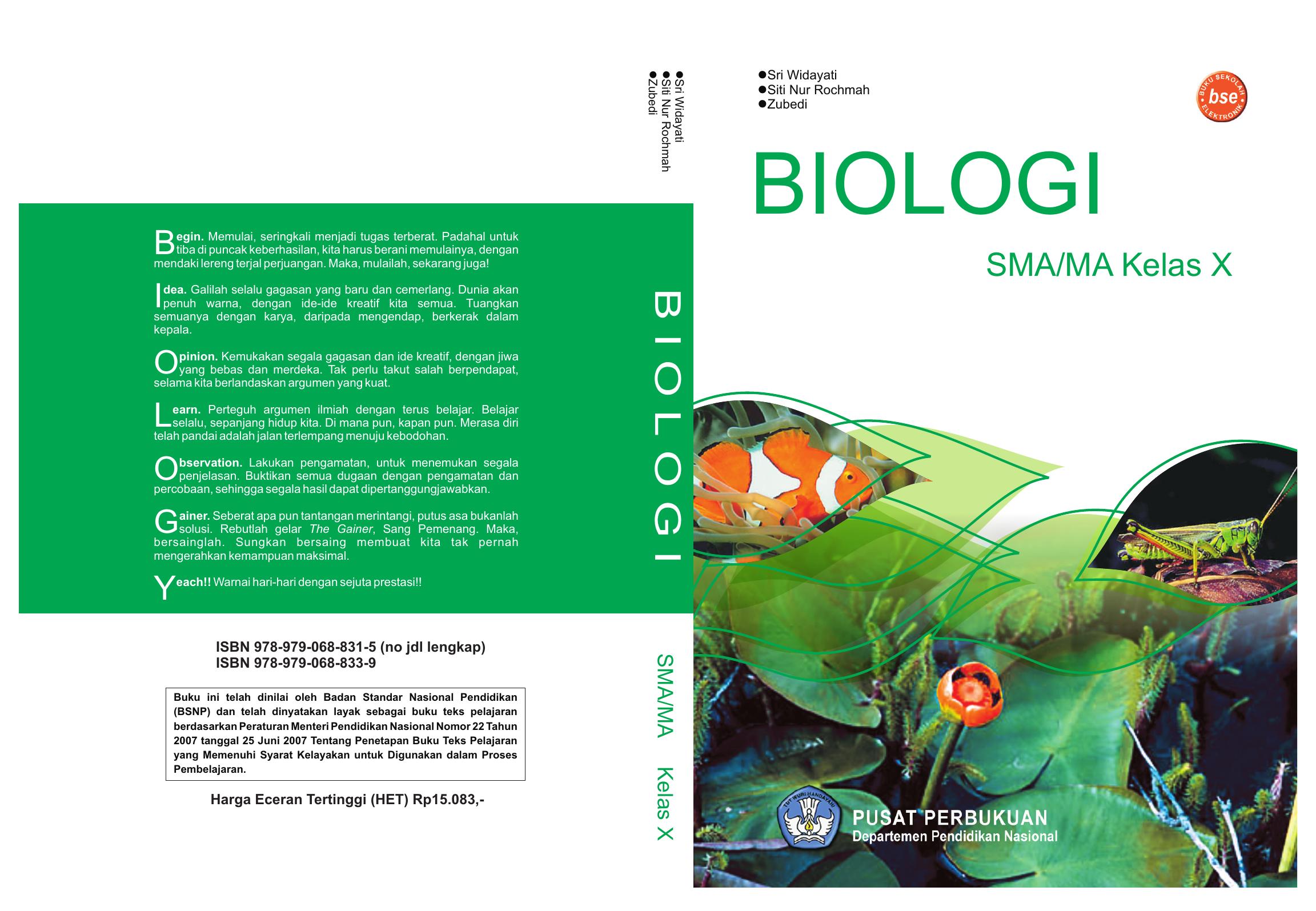 235 Cover BIOLOGI 10 Modul Pembelajaran SMKN 1 Suwawa