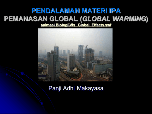 Pemanasan global