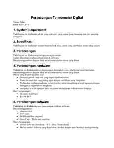 Perancangan Software