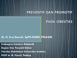 Konsensus Idai Sindrom Metabolik