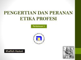 Modul Etika Profesi Public Relations Tm1