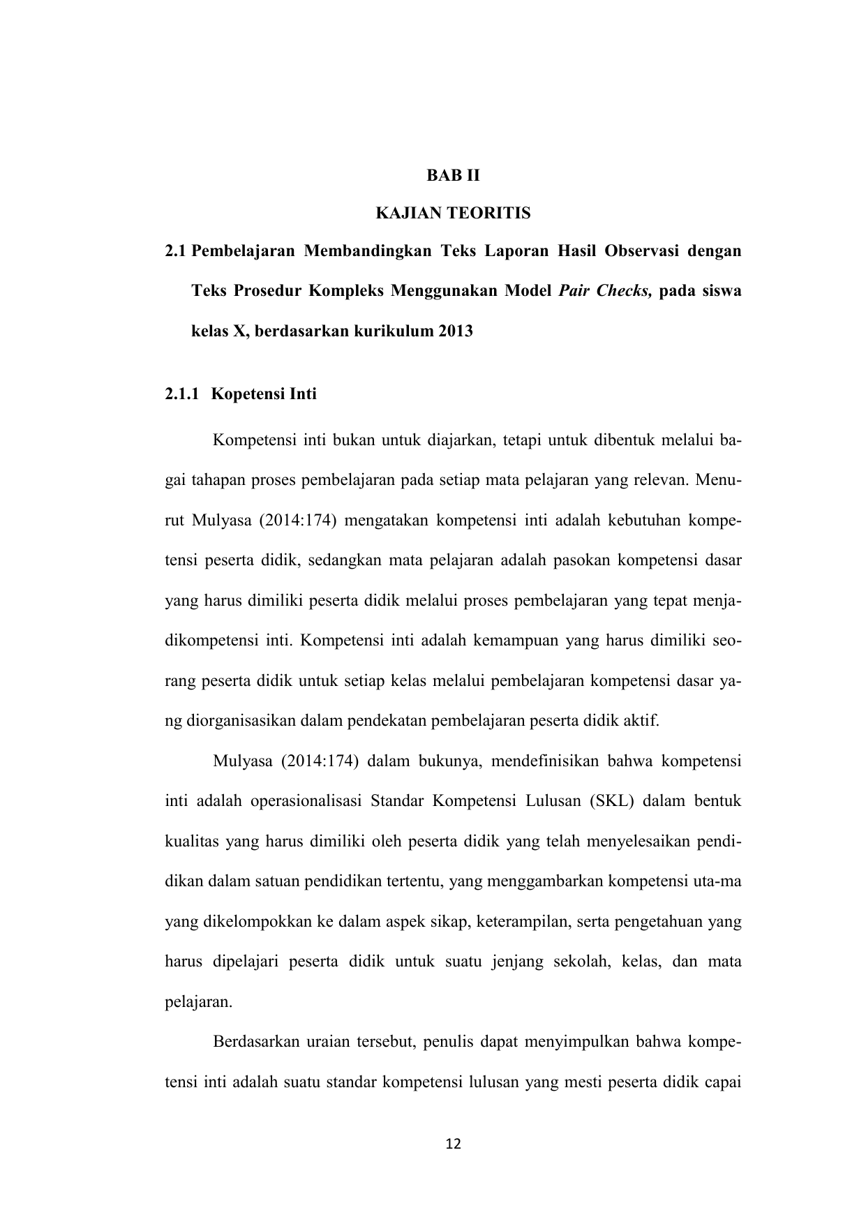 Bab Ii Kajian Teoritis 2 1 Pembelajaran Membandingkan Teks