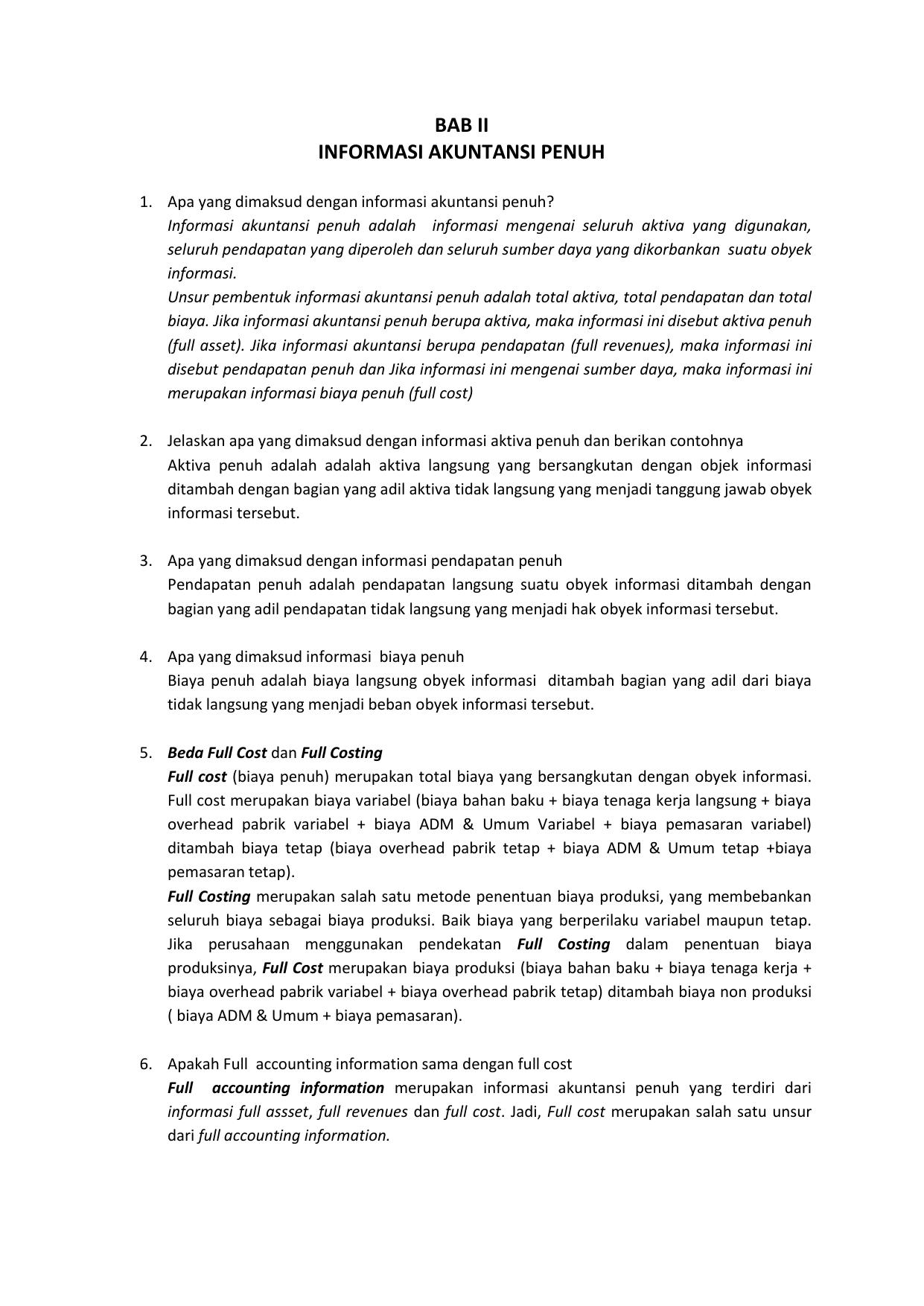 bab ii informasi akuntansi penuh - E