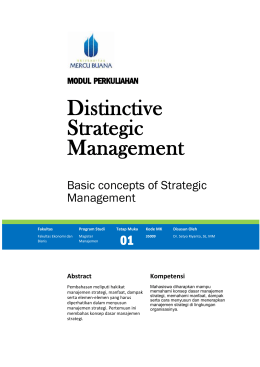 Phase 4: Strategic management