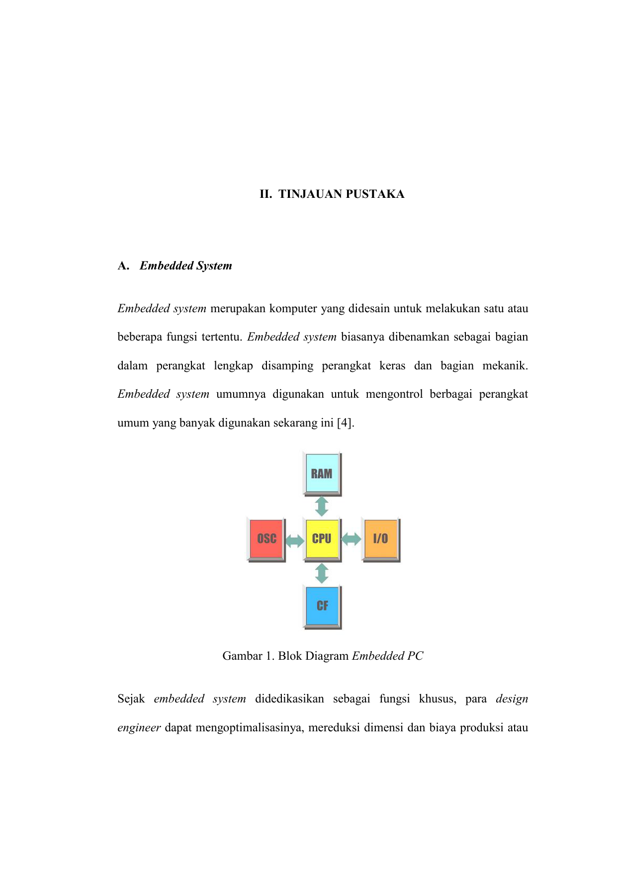 Ii tinjauan pustaka a embedded system embedded system ccuart Image collections