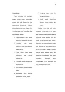 SOAL-SOAL : KEMAGNETAN A. Pilihan Ganda