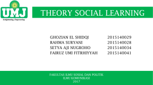 theory social learning