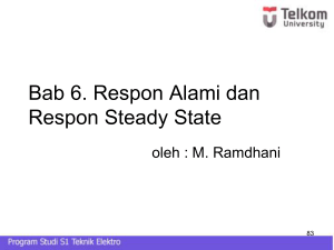 steady state - Mohamad Ramdhani
