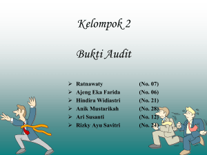 Bab 5 – Bukti Audit