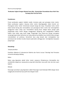Resume jurnal pengeringan - Blog UB