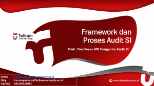 Framework Audit SI