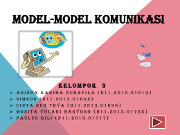 model komunikasi interaksional