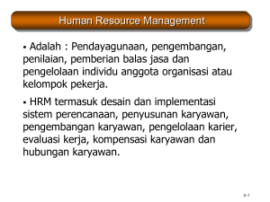 Human Resource Management 10e - Mathis and Jackson