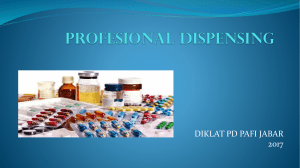 dispensing - PD PAFI JABAR
