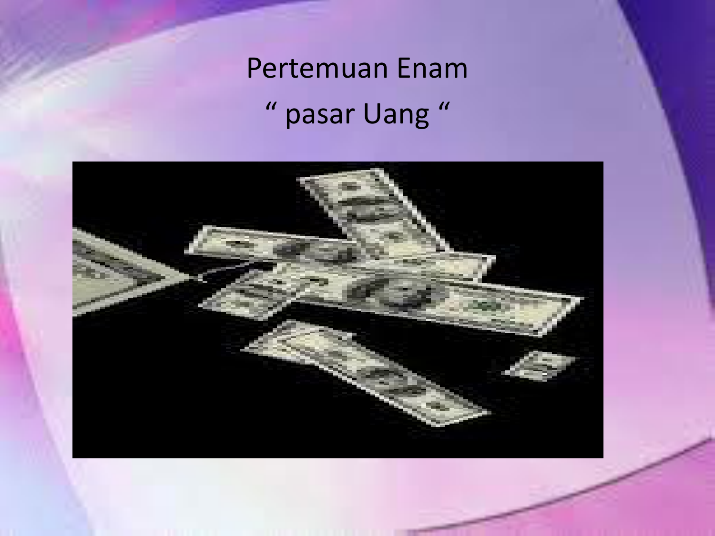 Surat Berharga Pasar Uang Sbpu