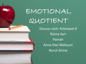 emotional quotient - Blog UMY Community