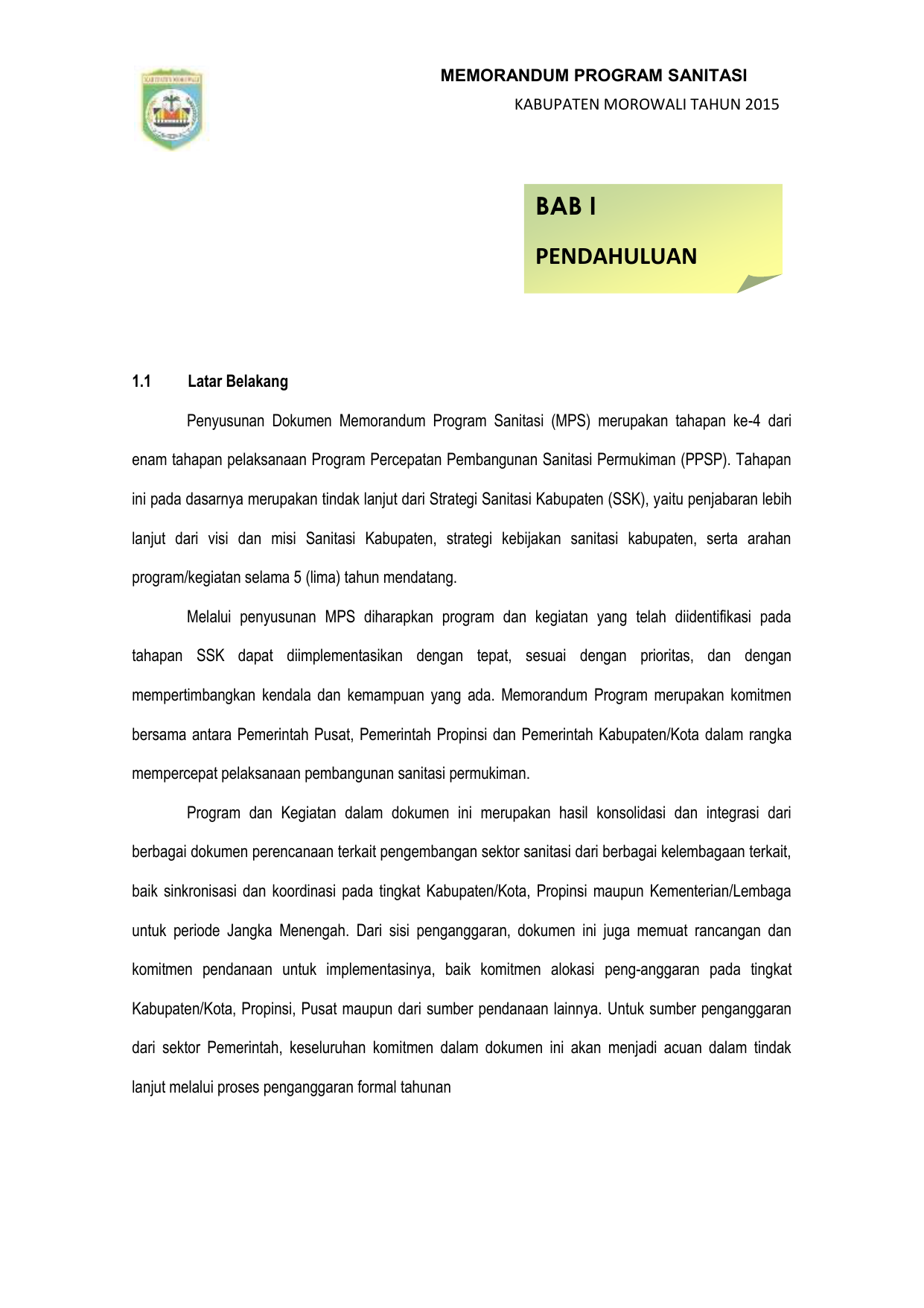 Rencana Struktur Ruang Wilayah Kabupaten Morowali