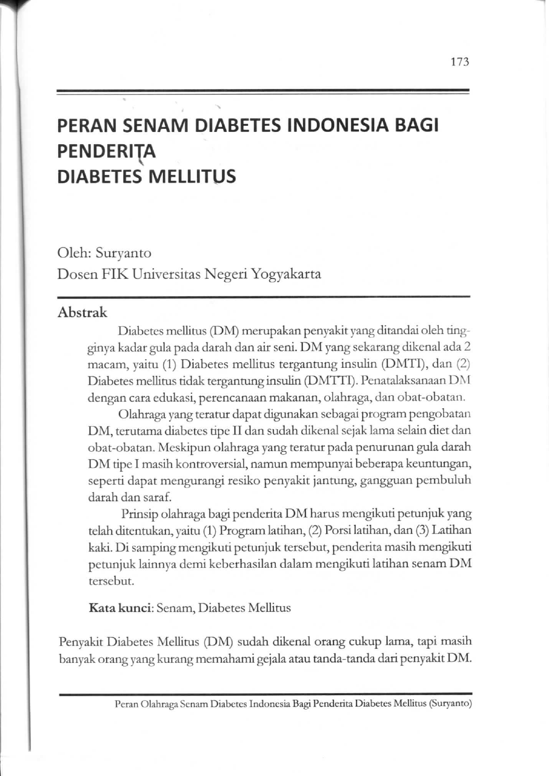 senam diabetes indonesia seri 4 persatuan diabetes indonesia