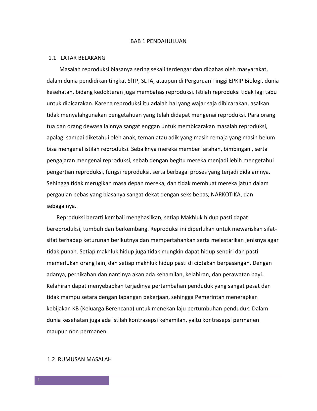 Makalah Kesehatan Reproduksi Remaja Rahmatia Olii Academia Edu