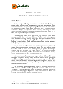 Proposal Penawaran Website Pilkada